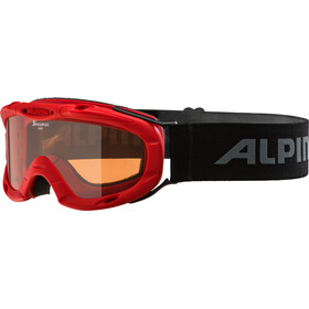 Alpina Ruby S Singleflex Hicon S1 Goggles Kinderen, red
